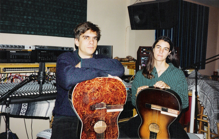 VOE in their studio mid 1990's